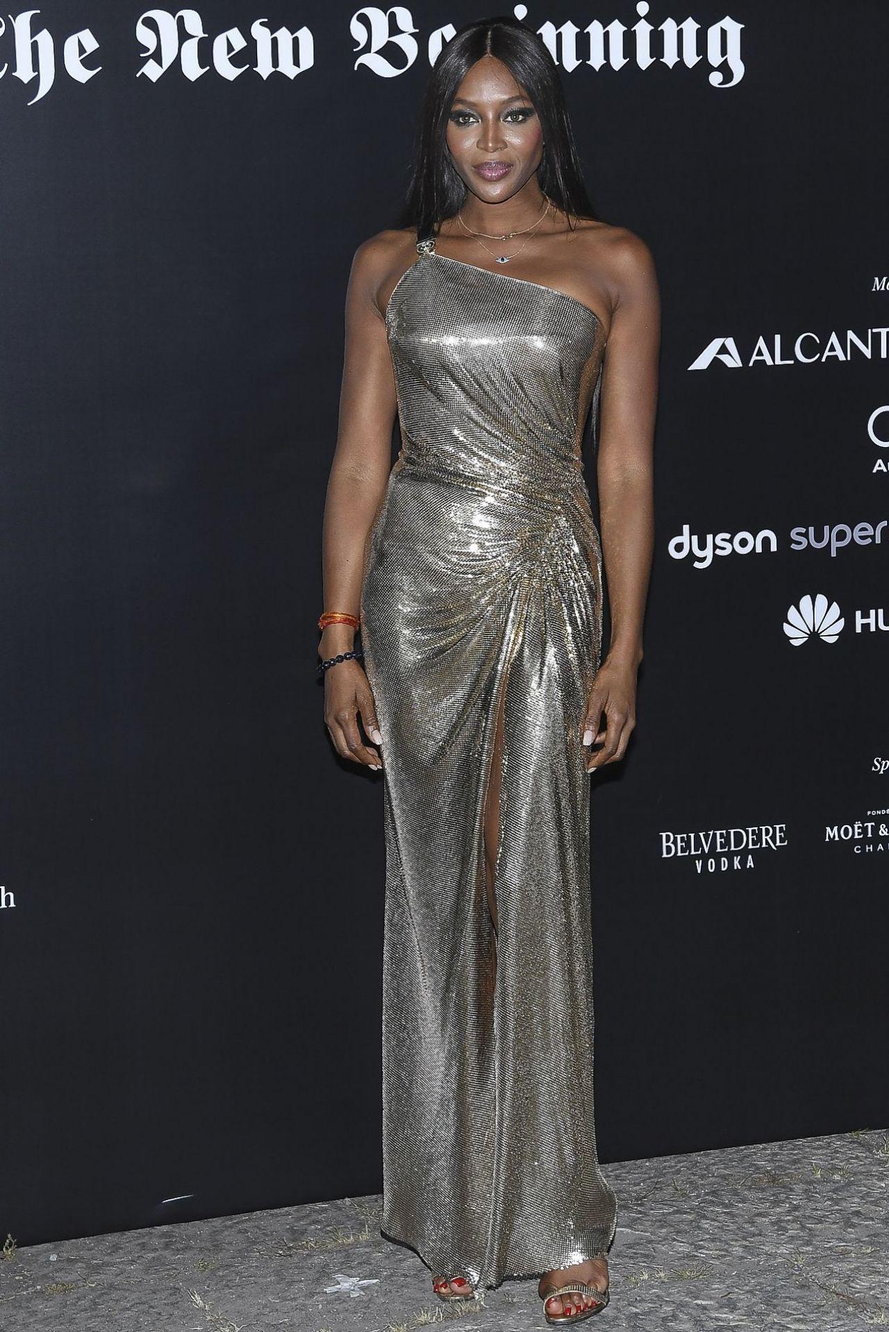Naomi Campbell – Vogue Italia Party in Milan 09/22/2017