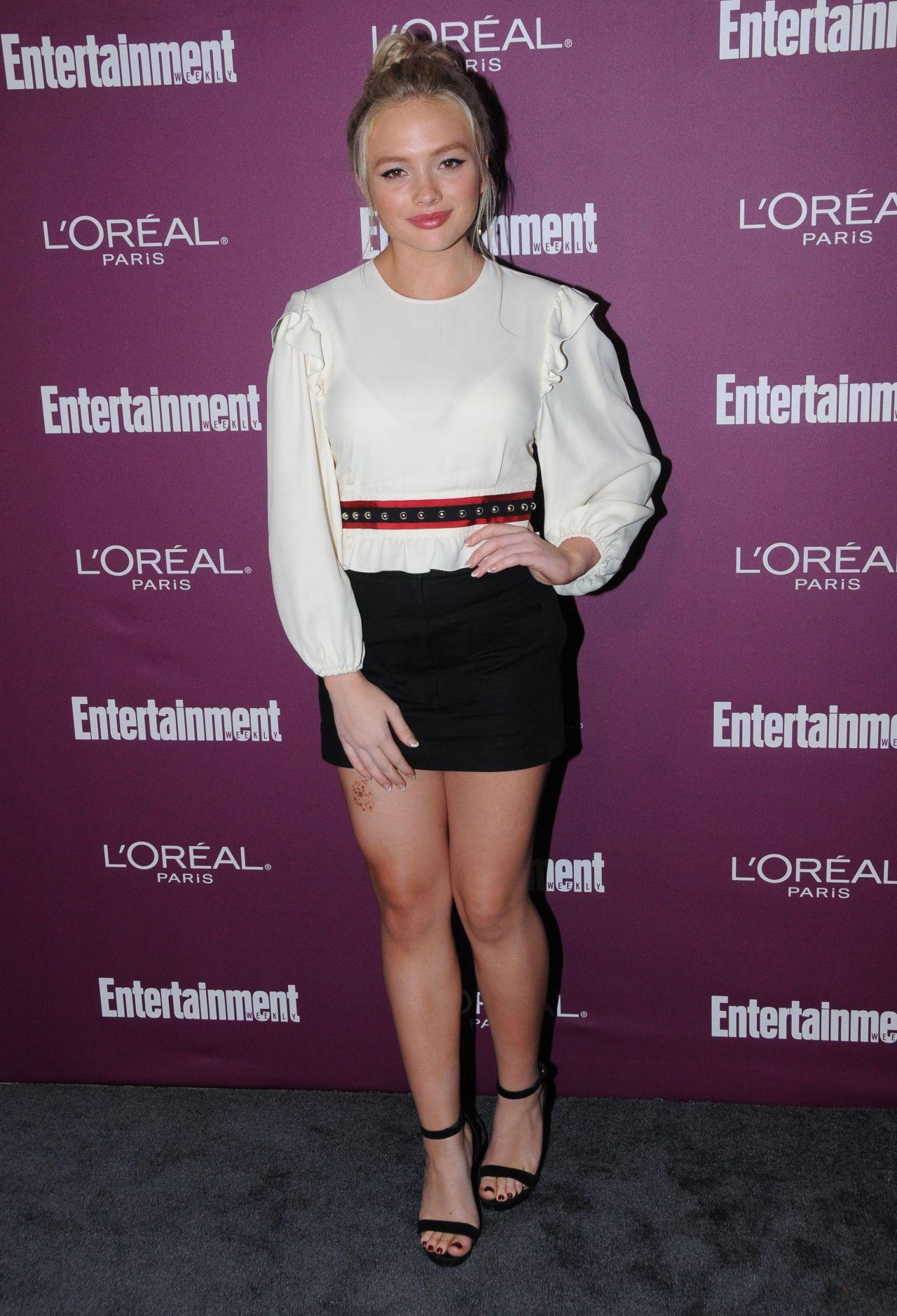 Natalie Alyn Lind – EW Pre-Emmy Party in West Hollywood 09/15/2017