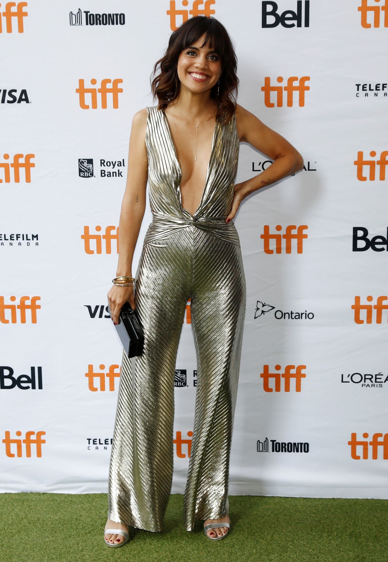 """Natalie Morales – """"Battle of the Sexes"""" Premiere in Toronto 09/10/2017"""