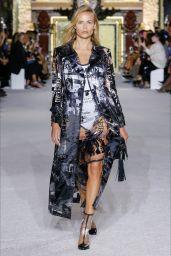 Natasha Poly – Walks Balmain Fashion Show in Paris 09/28/2017