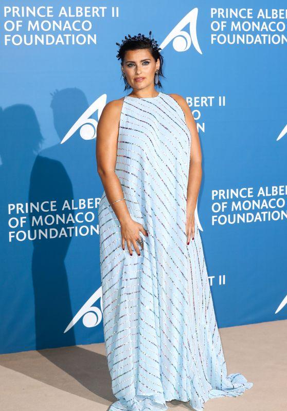 Nelly Furtado – Monte-Carlo Gala for the Global Ocean, Monaco 09/28/2017