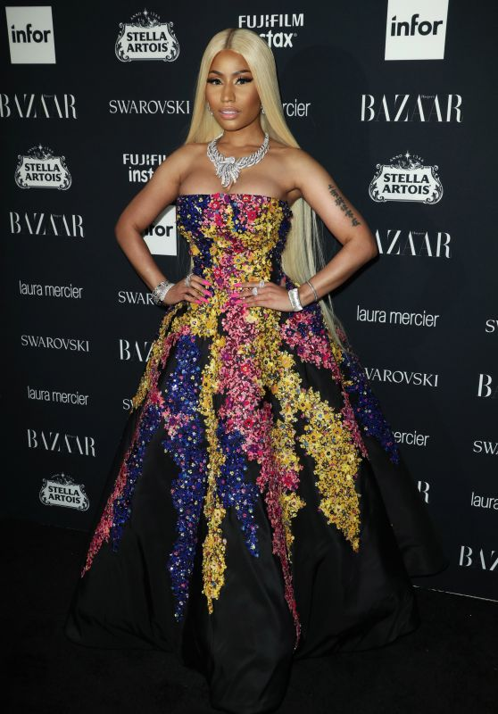 Nicki Minaj – Harper's Bazaar ICONS Party at NYFW 09/08/2017