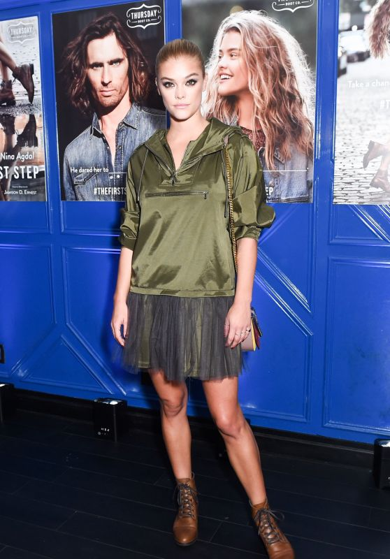 Nina Agdal – HOOCH's Thursday Boot co Presentation in New York 09/13/2017