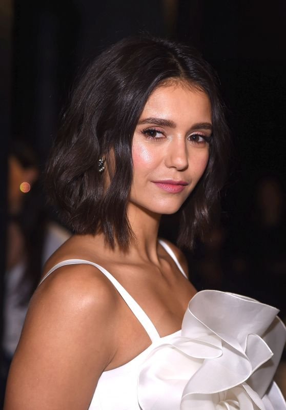 Nina Dobrev - Marchesa Fashion Show in New York 09/13/2017