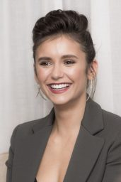 "Nina Dobrev Portraits - ""Flatliners"" Press Conference in NY 09/21/2017"