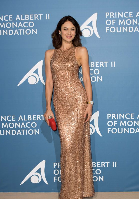 Olga Kurylenko - Monte-Carlo Gala for the Global Ocean, Monaco 09/28/2017