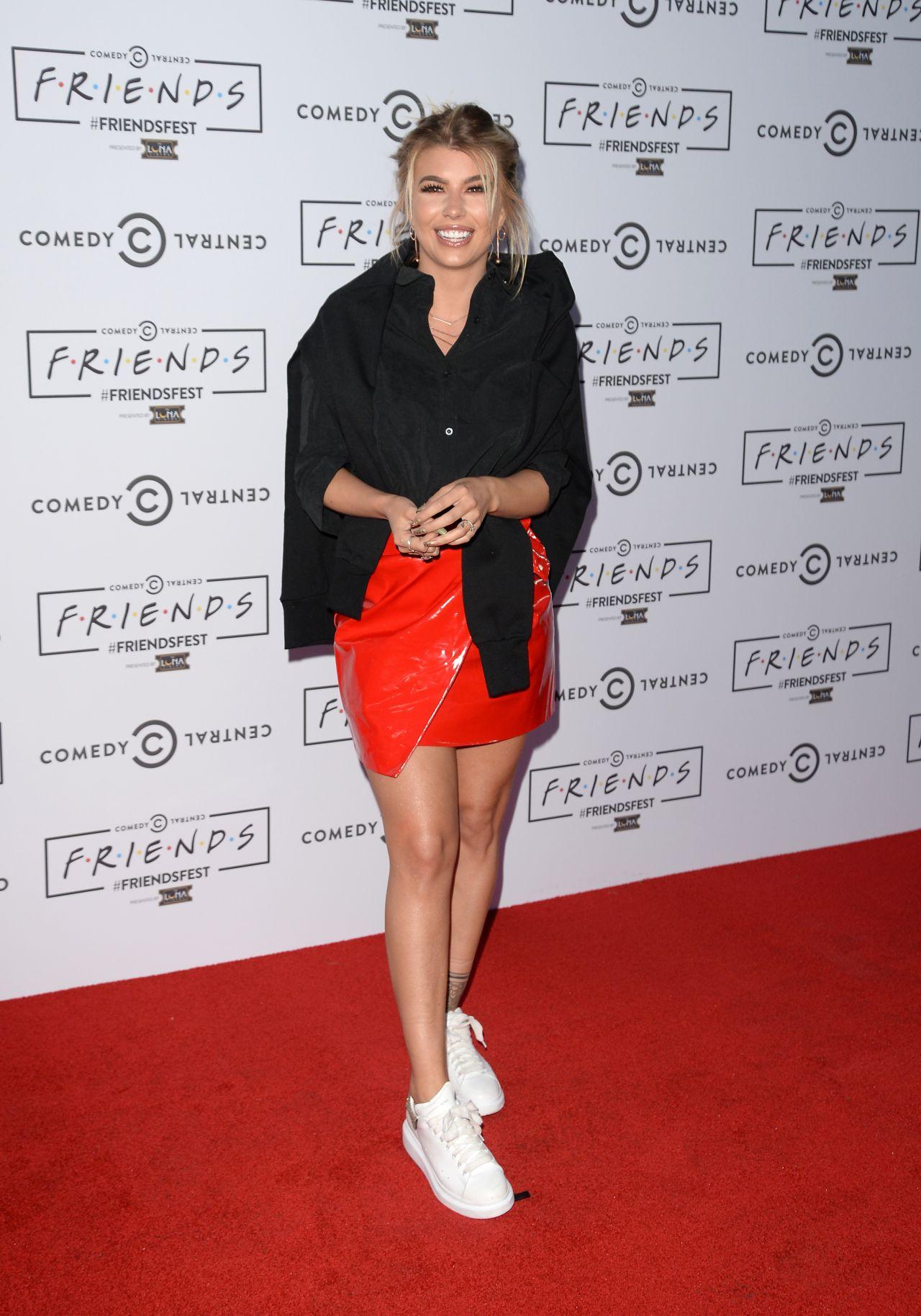 Olivia Buckland – FriendsFest Closing Party in London, UK 09/14/2017
