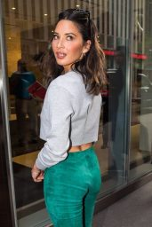 Olivia Munn at SiriusXM in NYC 09/19/2017