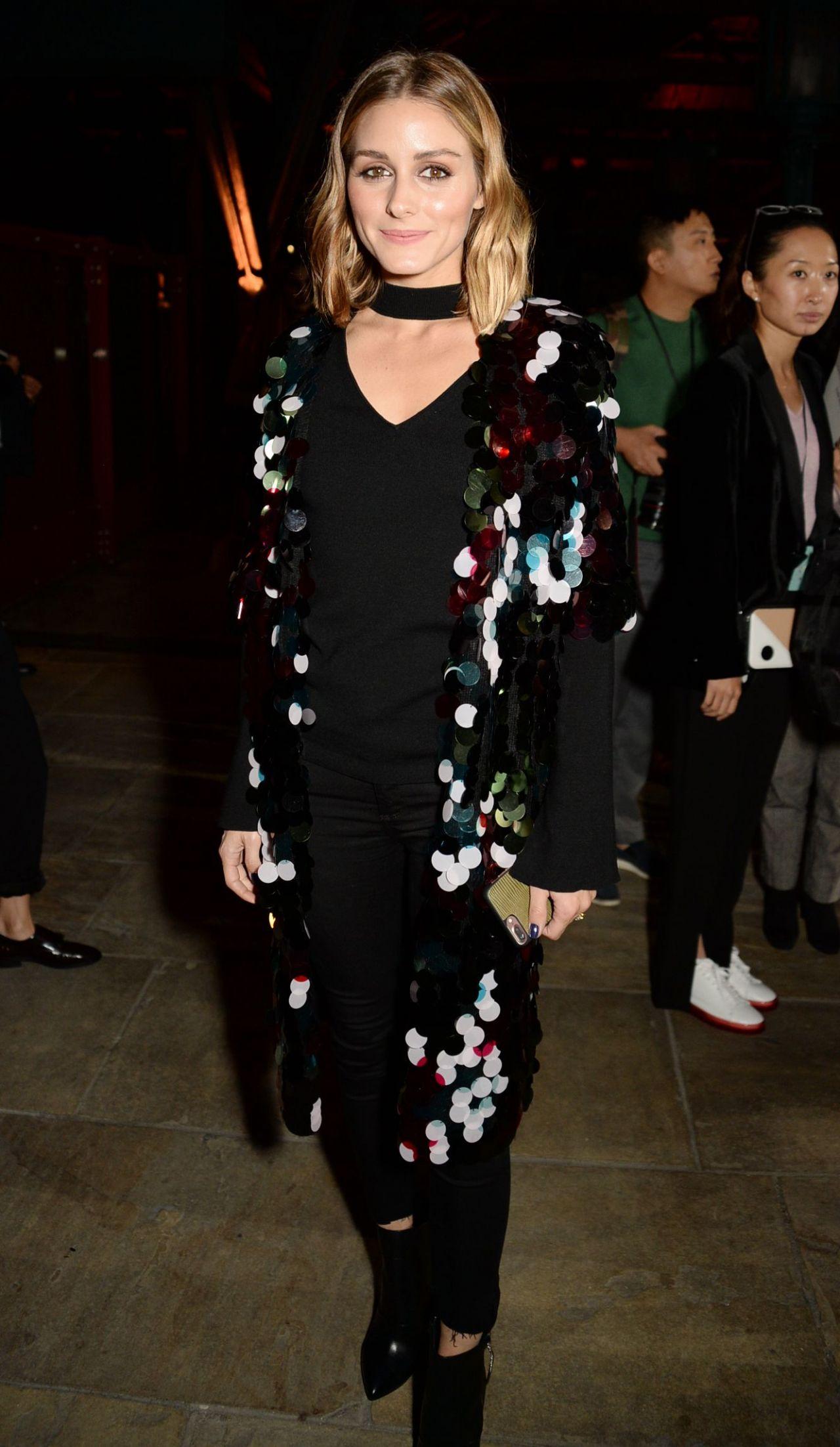 Olivia Palermo – Emporio Armani Show in London 09/17/2017