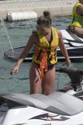 Olympia Valance in Bikini - Beach in Greece 09/22/2017