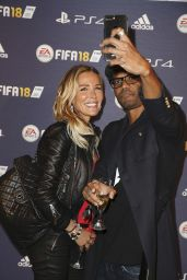 "Ophelie Winter - ""FIFA 2018"" Game Launch Party in Paris 09/25/2017"