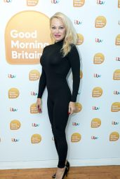 Pamela Anderson - Good Morning Britain TV Show in London 09/20/2017
