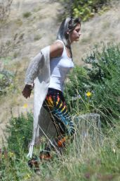 Paris Jackson - Hiking in the Mountains of Santa Barbara 09/22/2017