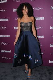 Parisa Fitz-Henley – EW Pre-Emmy Party in West Hollywood 09/15/2017