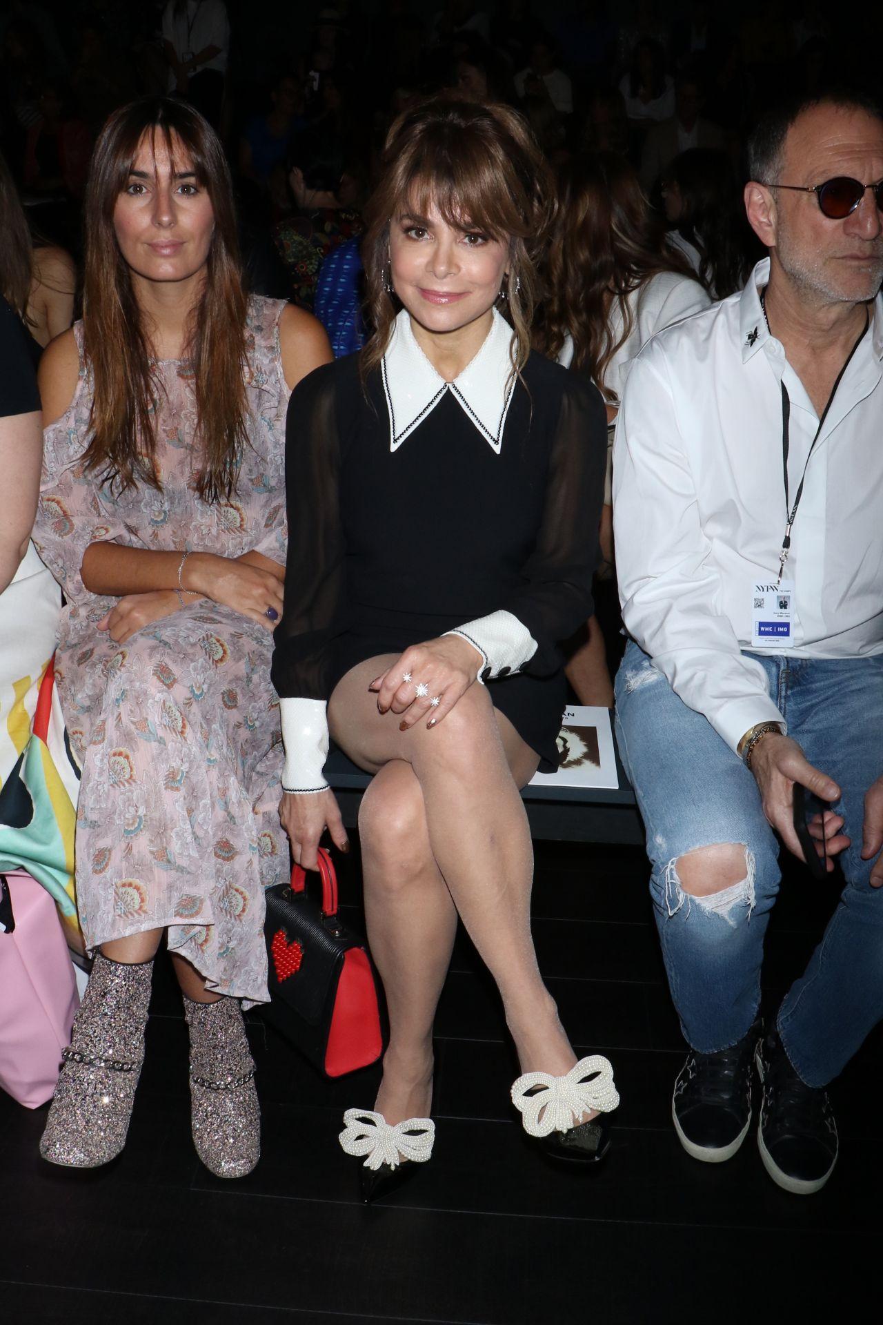 Paula Abdul - Naeem Khan Show, New York Fashion Week 0912 -9107