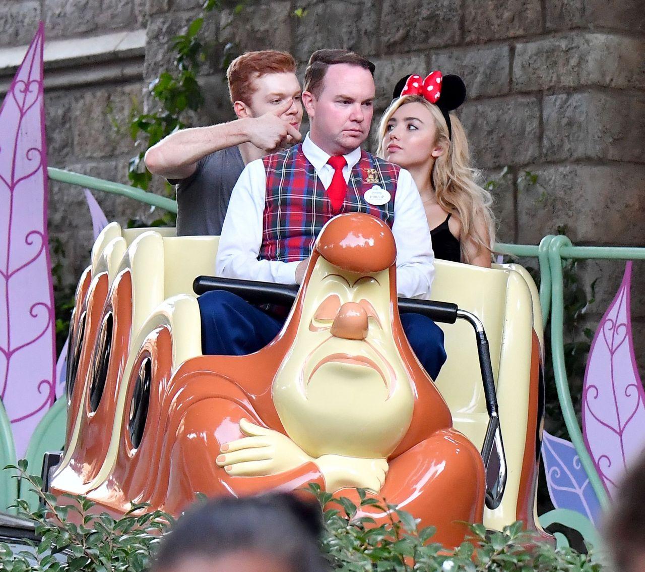 Peyton List - Visited Disneyland with Cameron Monaghan 09/05/2017