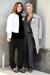 Princess Charlene - Giorgio Armani Show in Milan, Italy 09/22/2017