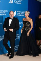 Princess Charlene of Monaco – Monte-Carlo Gala for the Global Ocean, Monaco 09/28/2017