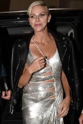 Princess Charlene – Versace Show at the Milan Fashion Week 09/22/2017