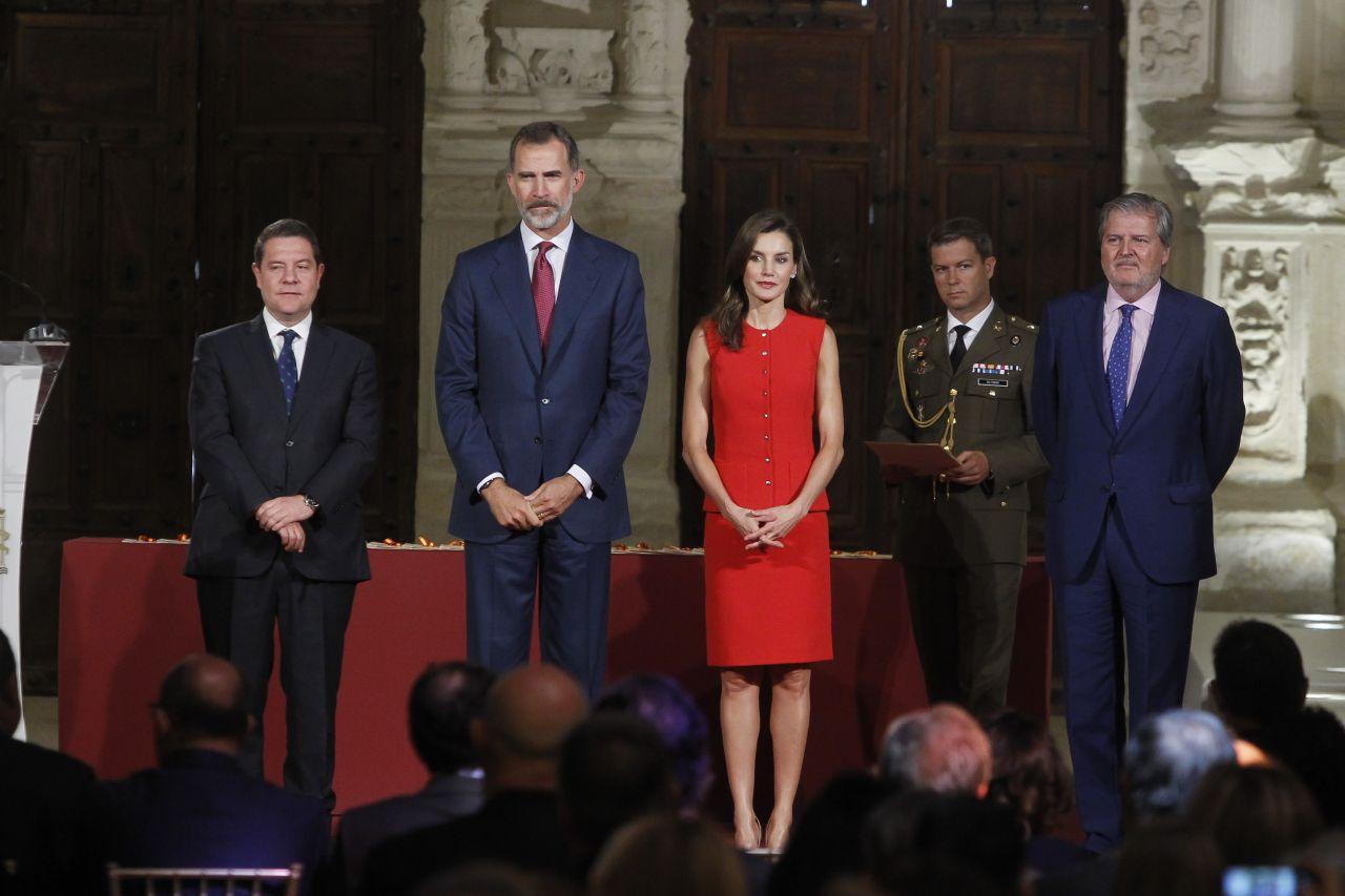 Queen Letizia National Culture Awards In Cuenca Spain
