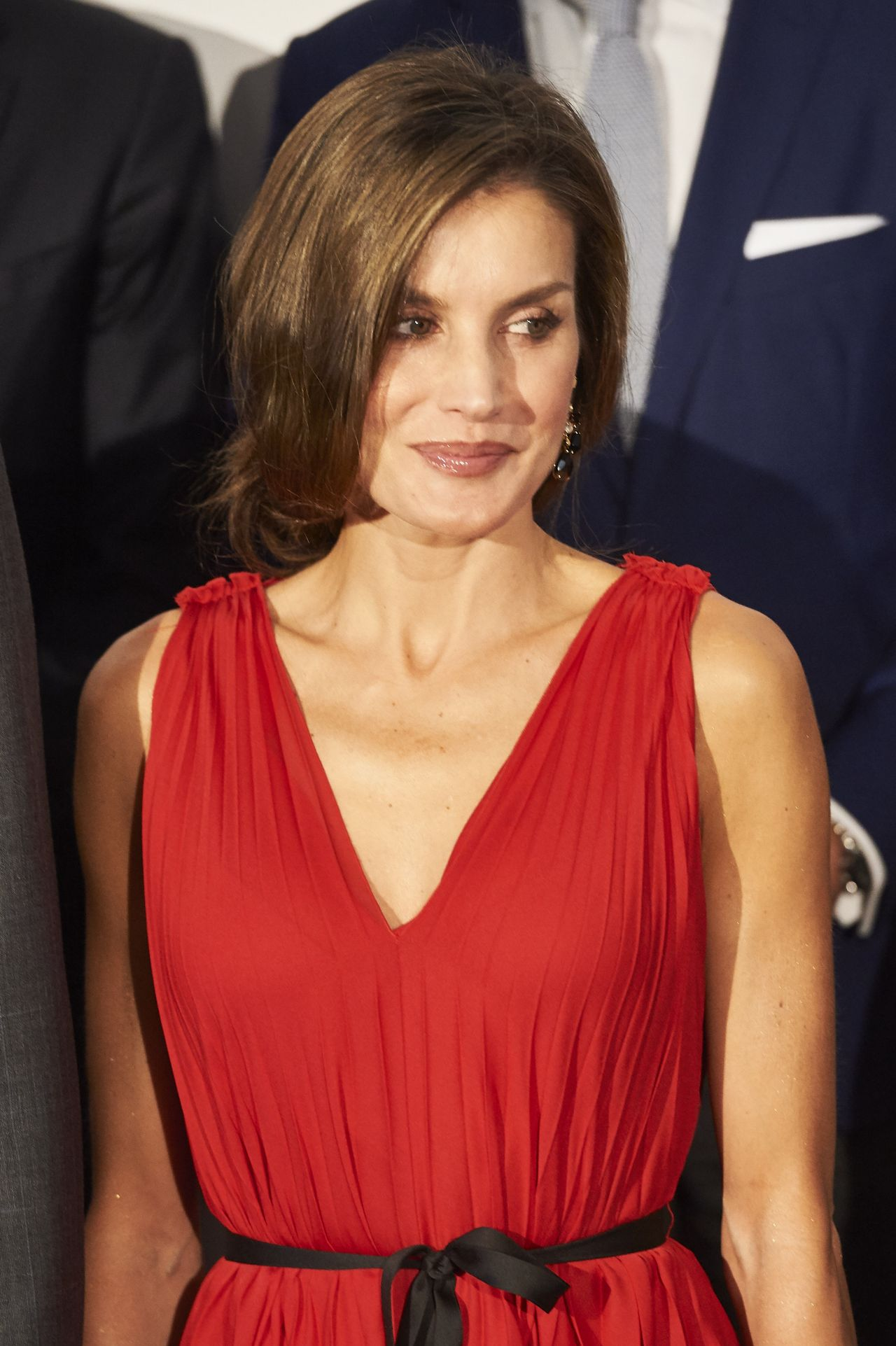 On To College Show 09 22 2017 >> Queen Letizia of Spain at the Teatro Real in Madrid 09/21/2017
