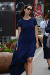 Rebecca Hall - Celebrity Sightings at 74th Venice Film Festival 09/08/2017