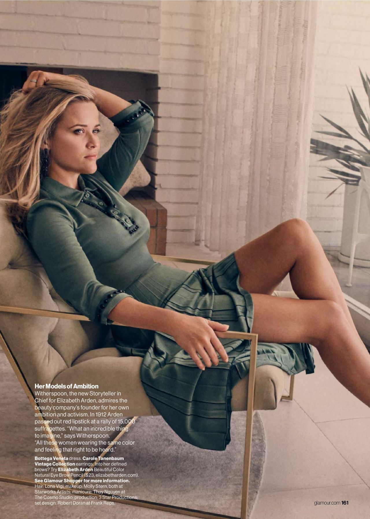 Reese Witherspoon - Photoshoot for Glamour (US) October 2017