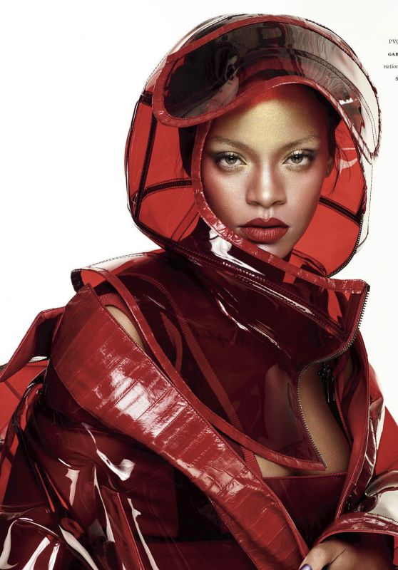 Rihanna - Elle USA October 2017