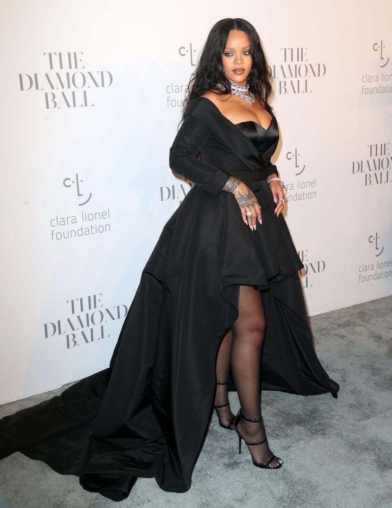 Rihanna - Her Clara Lionel Foundation Diamond Ball in NY 09/14/2017