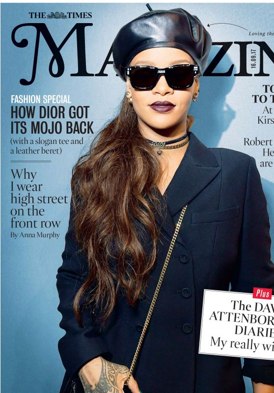 Rihanna - The Times Magazine September 2017