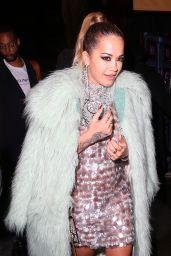 Rita Ora - Cirque le Soir Nightclub in London 09/19/2017
