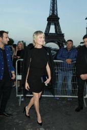 Robin Wright – Saint Laurent Fashion Show in Paris 09/26/2017