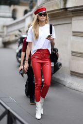 Romee Strijd - Paris Fashion Week, France 09/28/2017