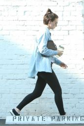 Rooney Mara - Hits the Gym in West Hollywood 09/20/2017