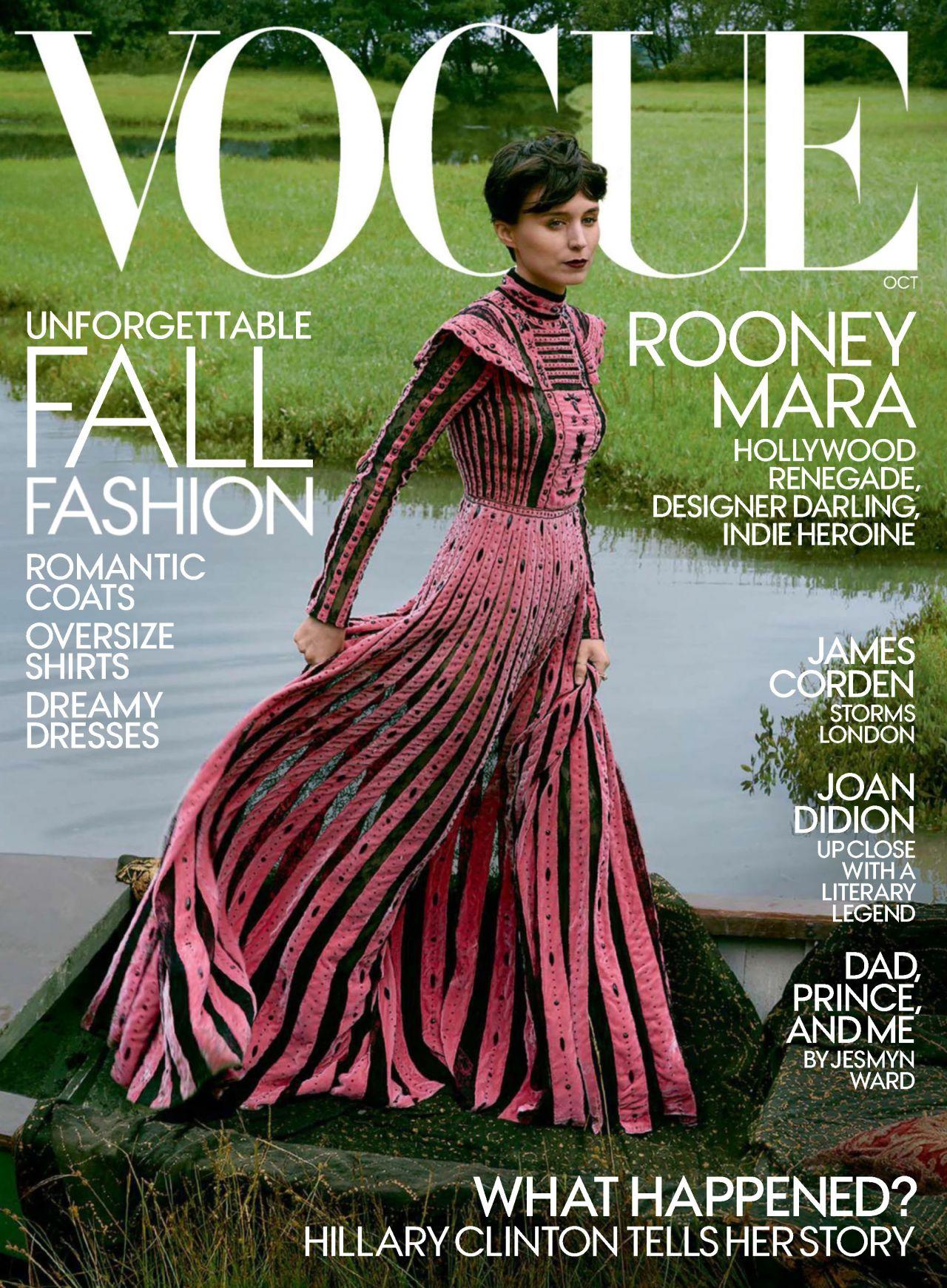 Rooney Mara - Vogue Ma...
