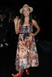 Rosario Dawson – Anna Sui Fashion Show in New York 09/11/2017