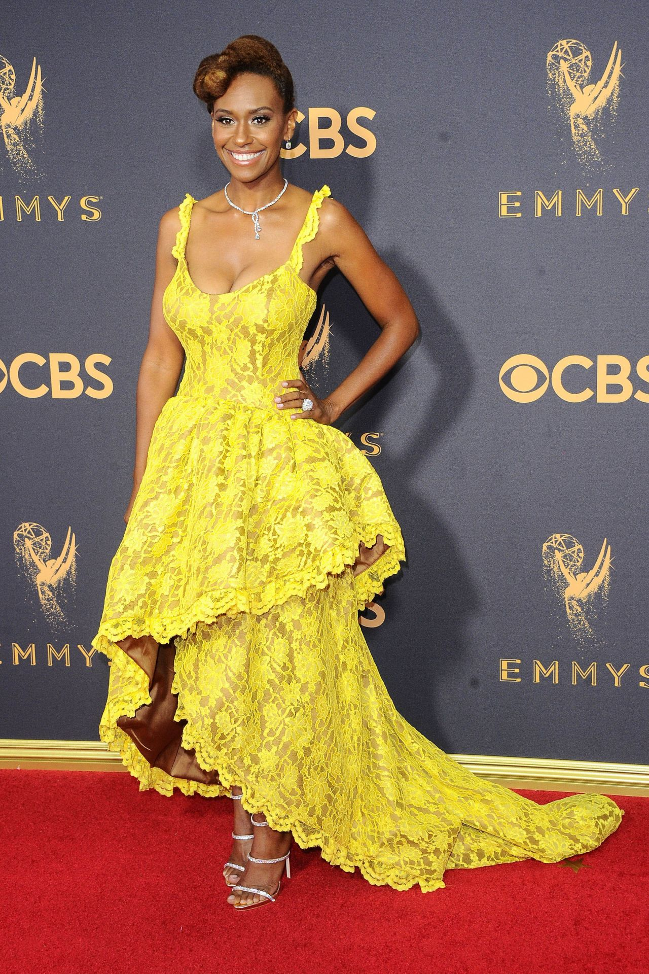Ryan Michelle Bathe Emmy Awards In Los Angeles 09 17 2017
