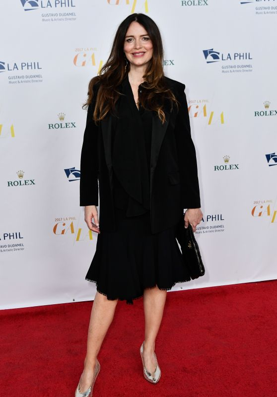 Saffron Burrows – LA Philharmonic Opening Night Concert and Gala 09/26/2017