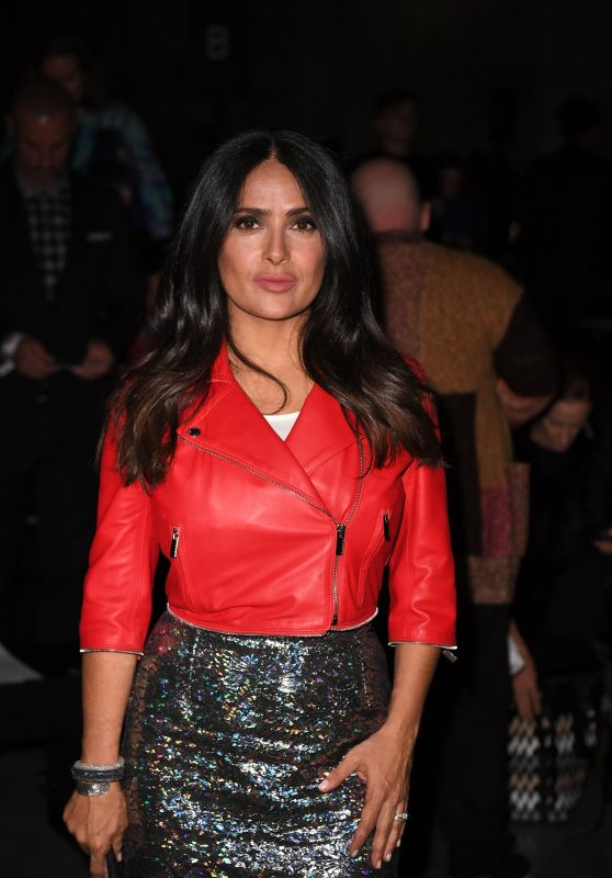 Salma Hayek - Mercury Prize Albums of the Year Show in London 09/18/2017