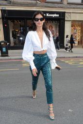 Sara Sampaio Style - London 09/18/2017