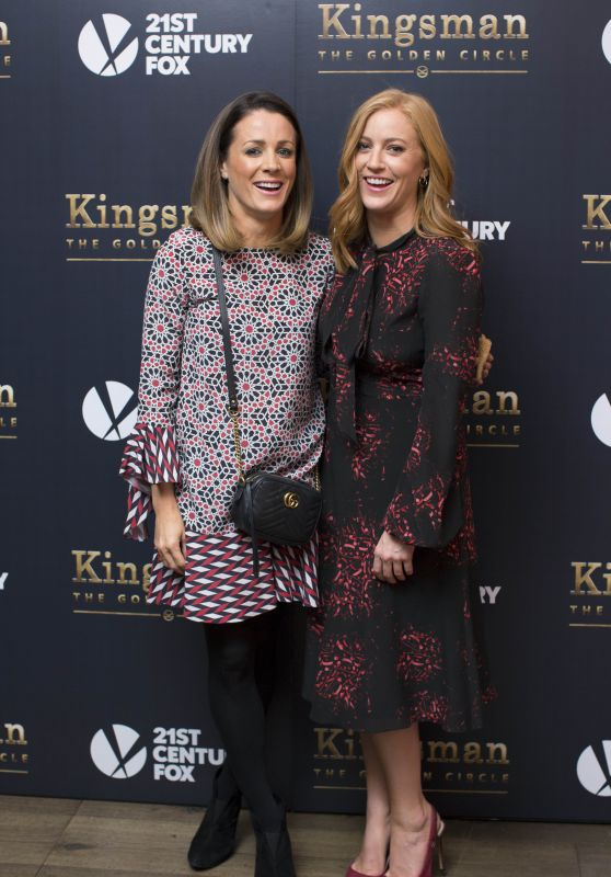 "Sarah-Jane Mee & Natalie Pinkham - ""Kingsman 2: The Golden Circle"" Private Screening in London 09/14/2017"