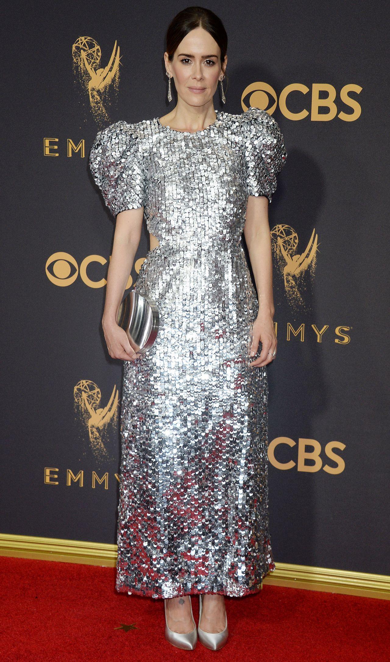 Sarah Paulson – Emmy Awards in Los Angeles 09/17/2017