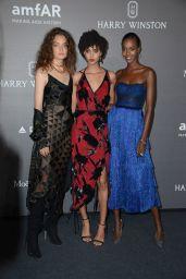 Sasha Kichigina – amfAR Gala Milano Red Carpet in Milan, Italy 09/21/2017