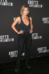 Scout Taylor-Compton – Knott's Scary Farm Celebrity Night in Buena Park 09/29/2017