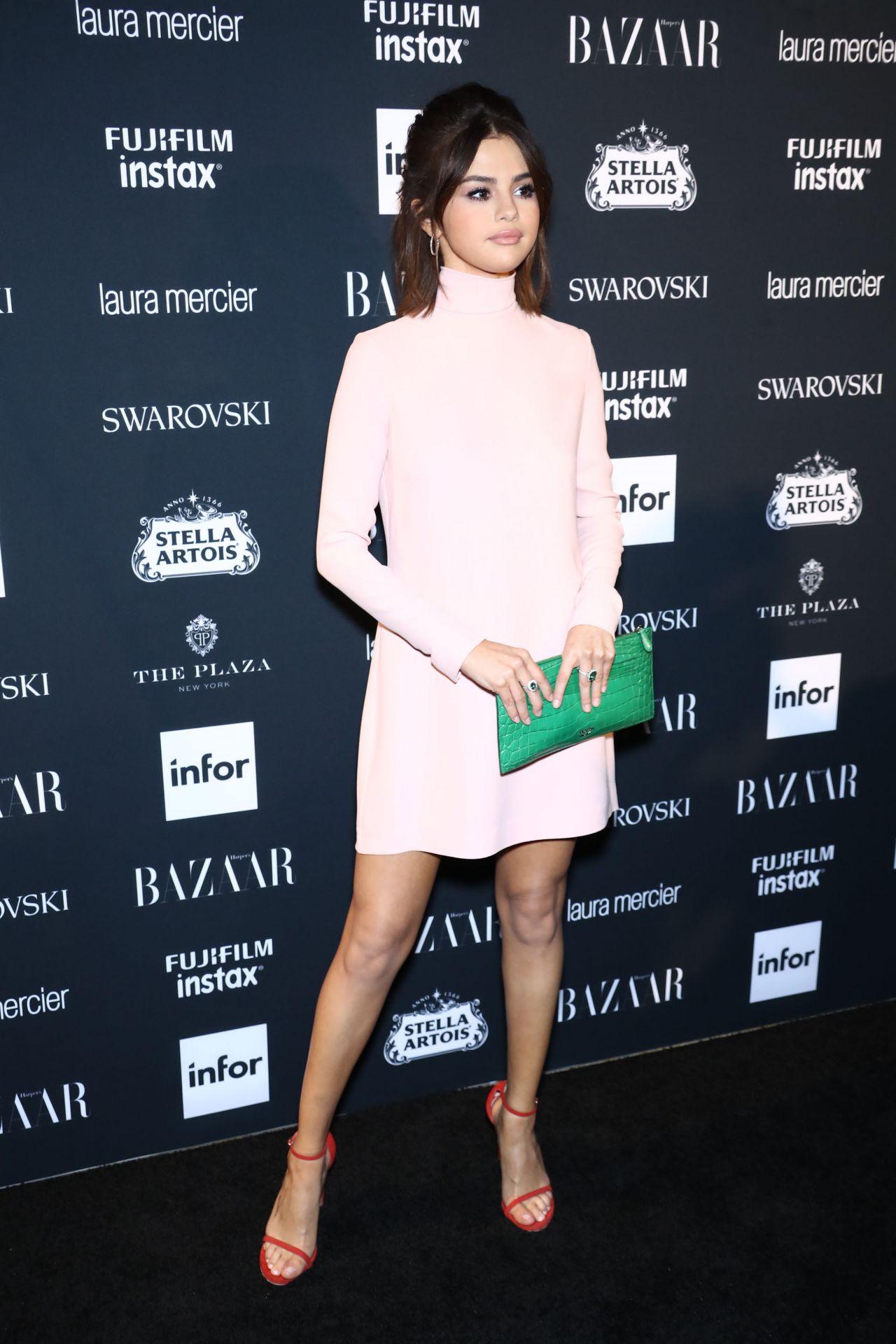 Selena Gomez Harper S Bazaar Icons Party At Nyfw 09 08 2017