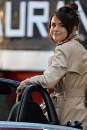 Selena Gomez - On the Set of Woody Allen Movie in NYC 09/11/2017