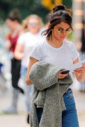 Selena Gomez on Woody Allen Secret Project in New York 09/20/2017
