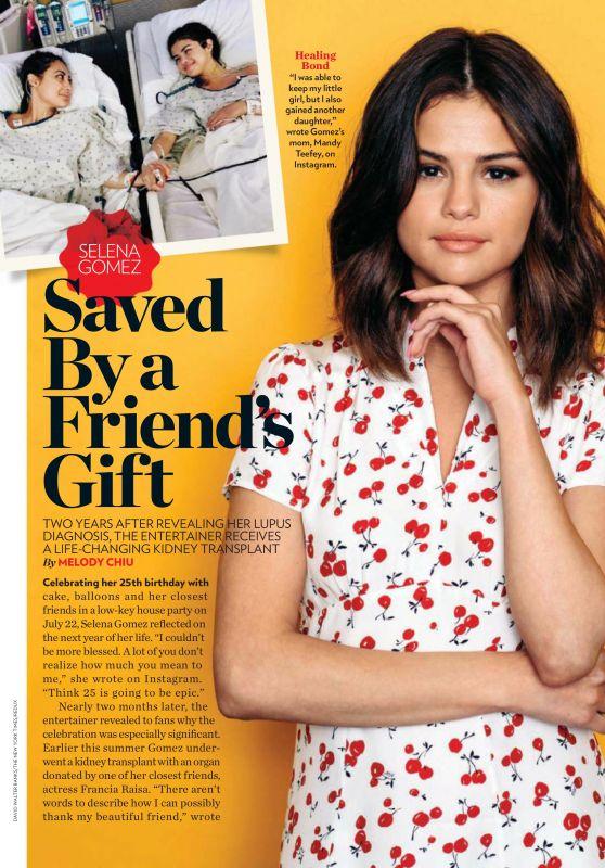 Selena Gomez - People USA October 2017