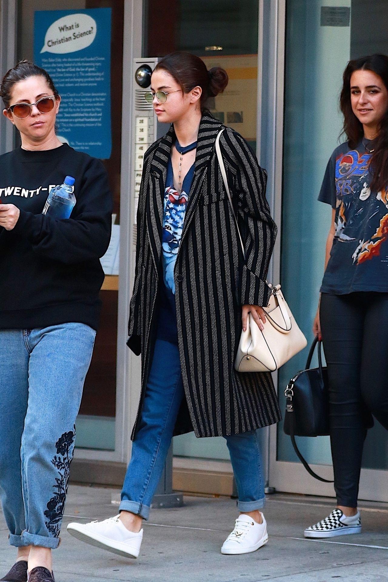 Selena Gomez Street Style Nyc 09 26 2017