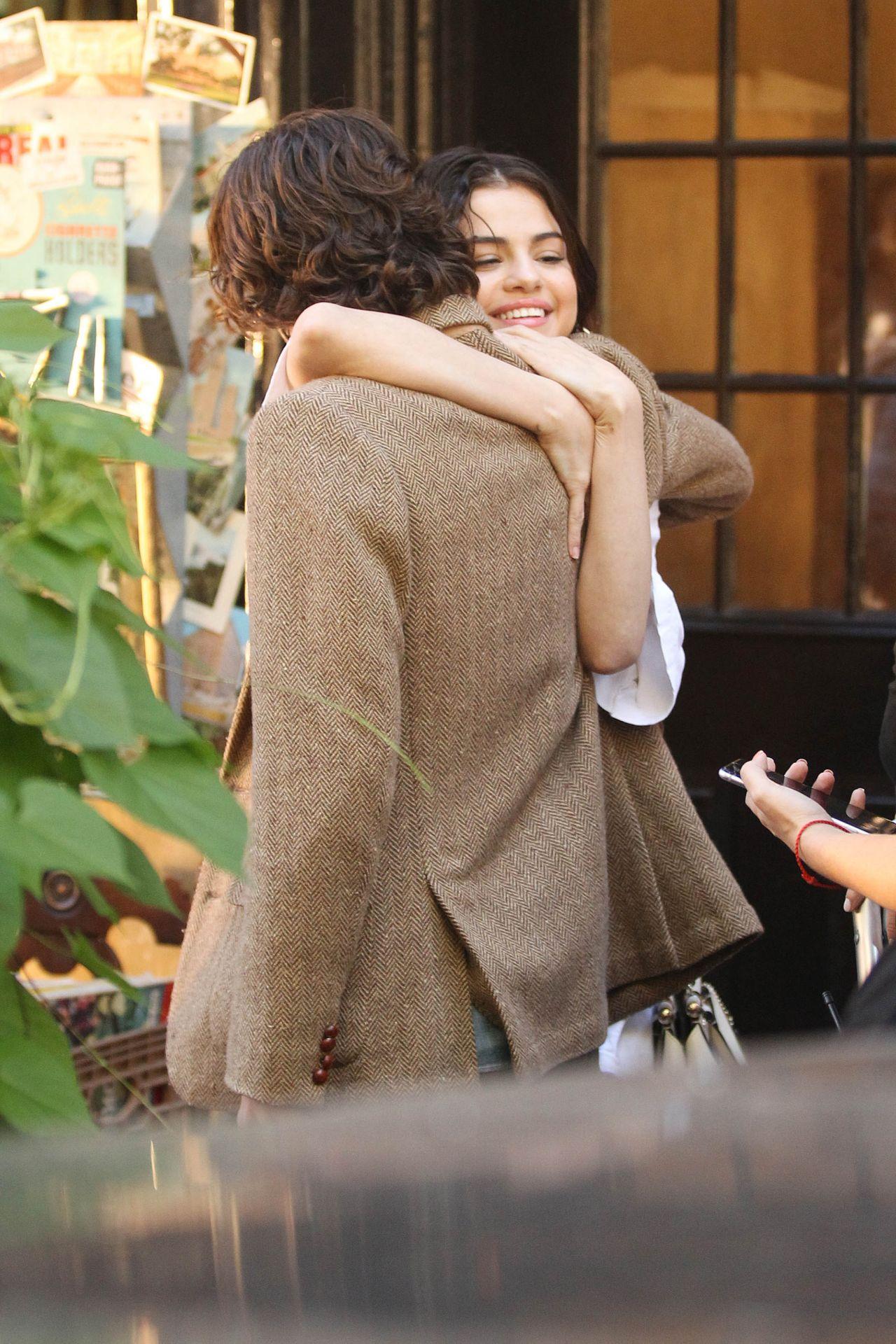 Selena Gomez - Woody Allen Film Set In Nyc 09222017-4890
